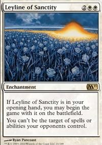 MTG Card: Leyline of Sanctity