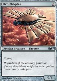 MTG Card: Ornithopter