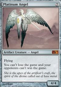 MTG Card: Platinum Angel