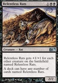 MTG Card: Relentless Rats