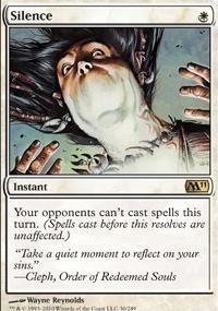 MTG Card: Silence