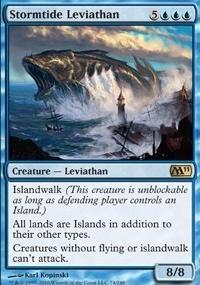 MTG Card: Stormtide Leviathan
