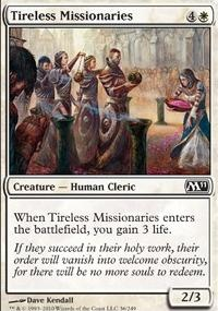 MTG Card: Tireless Missionaries
