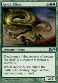 MTG Card: Acidic Slime