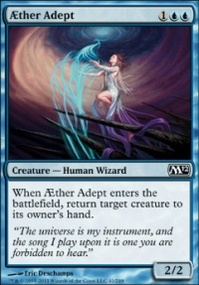 MTG Card: AEther Adept