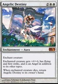 MTG Card: Angelic Destiny