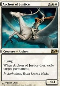 MTG Card: Archon of Justice