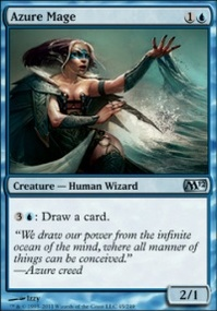 MTG Card: Azure Mage