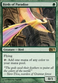 MTG Card: Birds of Paradise