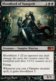 MTG Card: Bloodlord of Vaasgoth