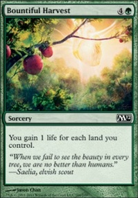 MTG Card: Bountiful Harvest