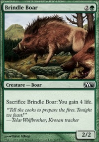 MTG Card: Brindle Boar