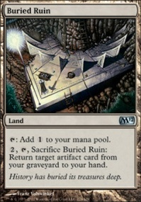 MTG Card: Buried Ruin