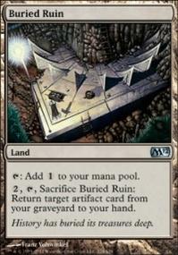 MTG Card: Buried Ruin