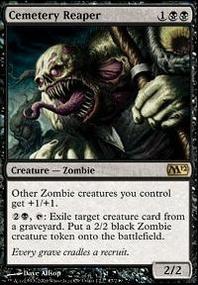 MTG Card: Cemetery Reaper
