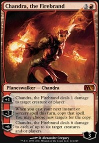 MTG Card: Chandra, the Firebrand