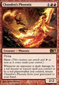 MTG Card: Chandra's Phoenix
