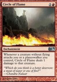 MTG Card: Circle of Flame