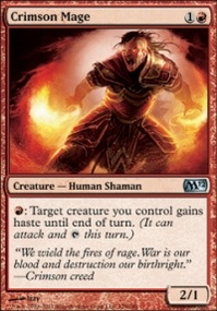 MTG Card: Crimson Mage