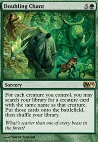MTG Card: Doubling Chant
