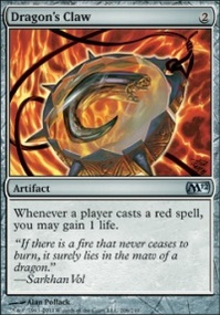 MTG Card: Dragon's Claw