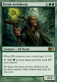 MTG Card: Elvish Archdruid