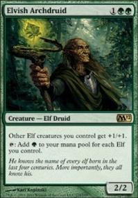 MTG Card: Elvish Archdruid