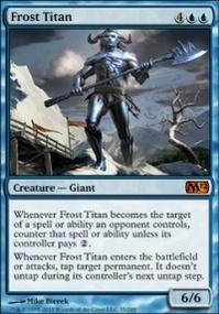 MTG Card: Frost Titan
