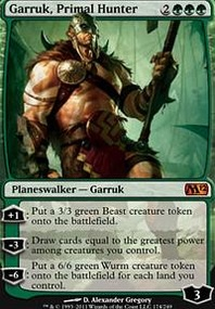 MTG Card: Garruk, Primal Hunter