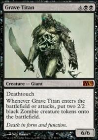 MTG Card: Grave Titan