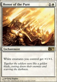 MTG Card: Honor of the Pure