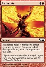 MTG Card: Incinerate