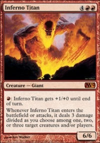 MTG Card: Inferno Titan