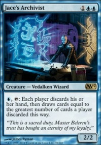 MTG Card: Jace's Archivist