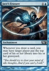 MTG Card: Jace's Erasure