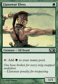 MTG Card: Llanowar Elves
