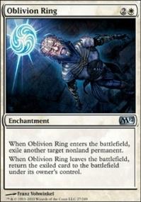 MTG Card: Oblivion Ring