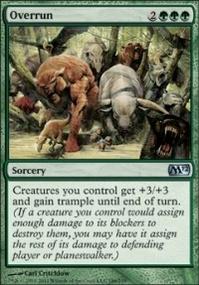 MTG Card: Overrun