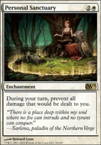 MTG Card: Personal Sanctuary