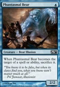 MTG Card: Phantasmal Bear