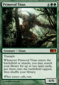MTG Card: Primeval Titan