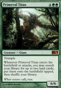 MTG Card: Primeval Titan