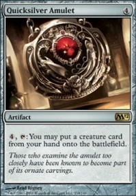 MTG Card: Quicksilver Amulet