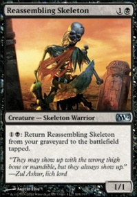 MTG Card: Reassembling Skeleton