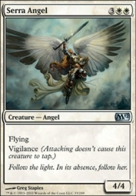 MTG Card: Serra Angel