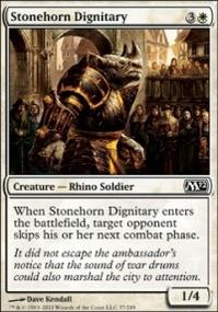 MTG Card: Stonehorn Dignitary