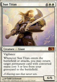 MTG Card: Sun Titan
