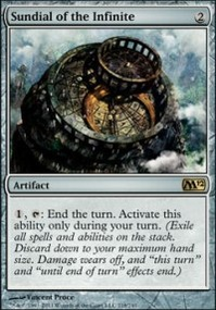 MTG Card: Sundial of the Infinite