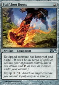 MTG Card: Swiftfoot Boots