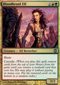 MTG Card: Bloodbraid Elf